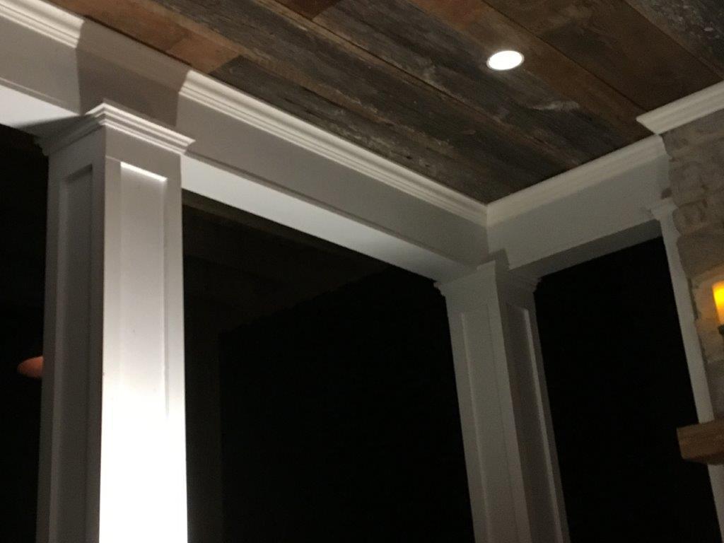 How We Built Our Porch Columns