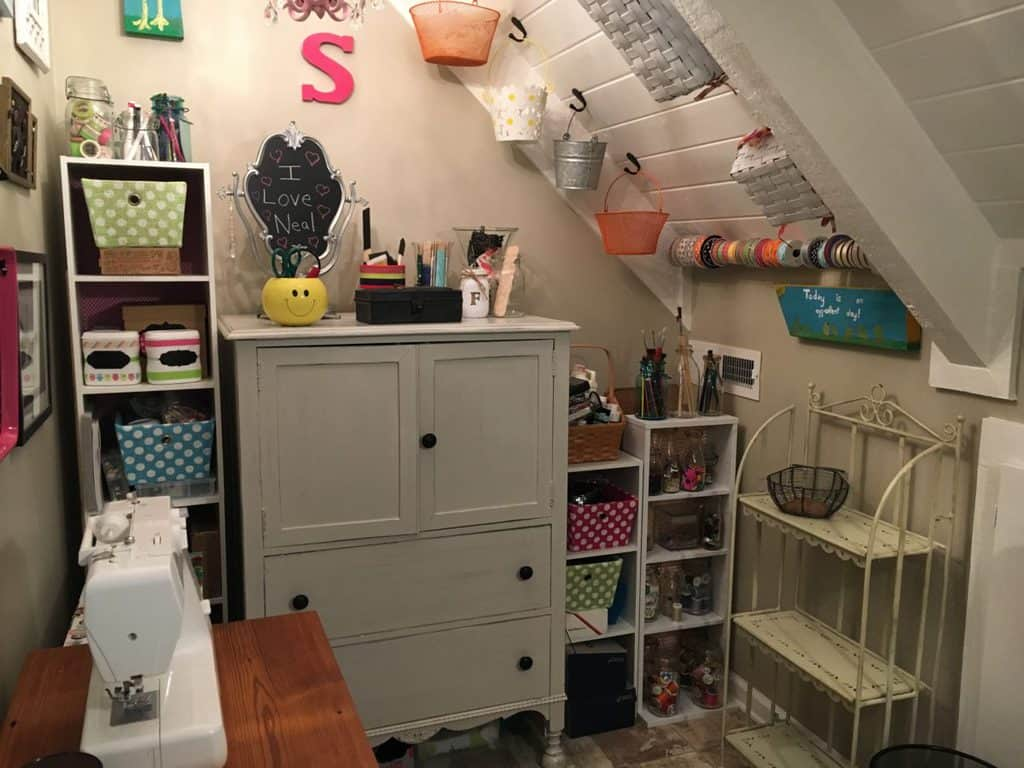 The Making of a Craft Room