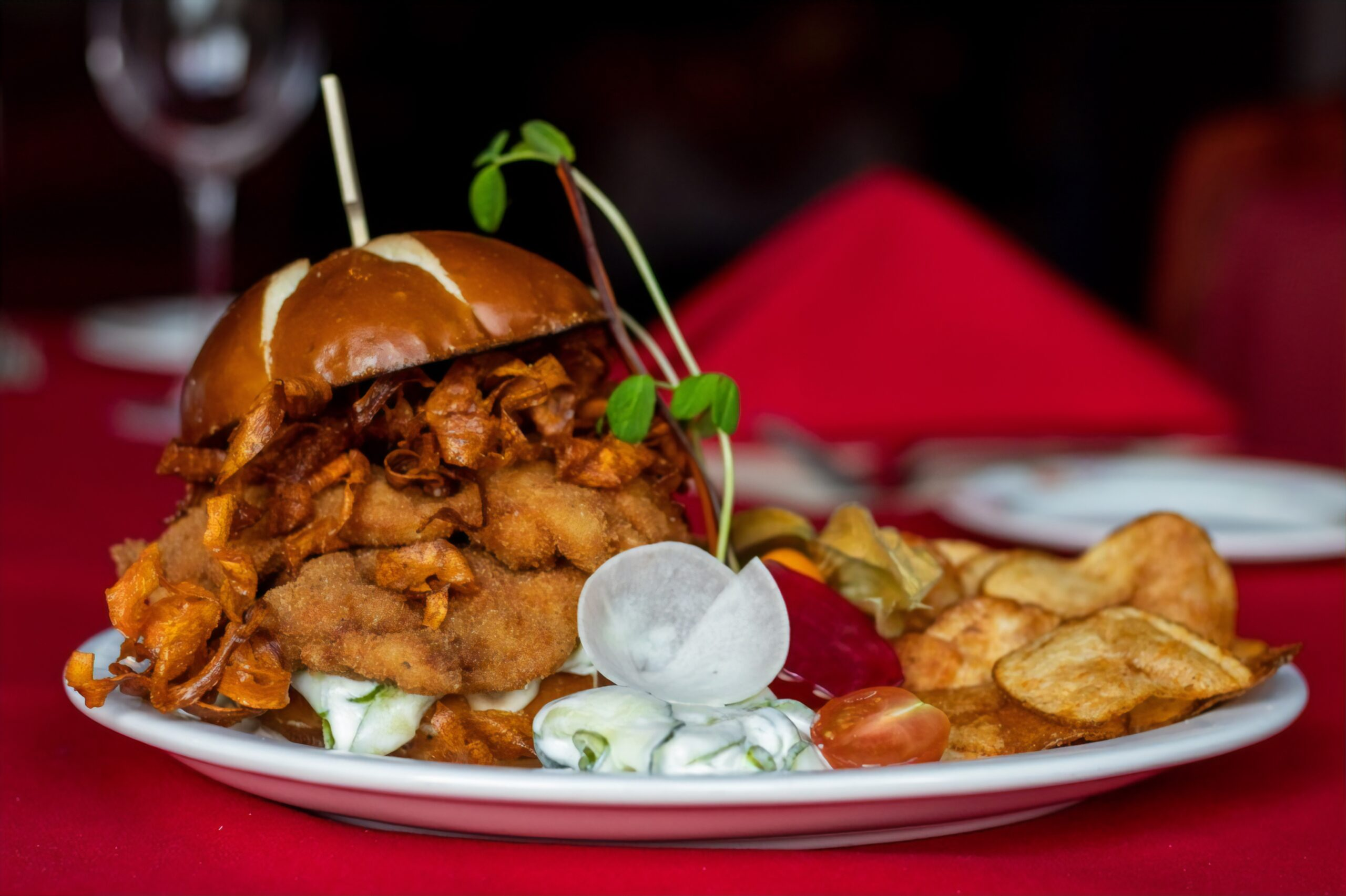 Chicken Buda Burger - (Patio Menu)