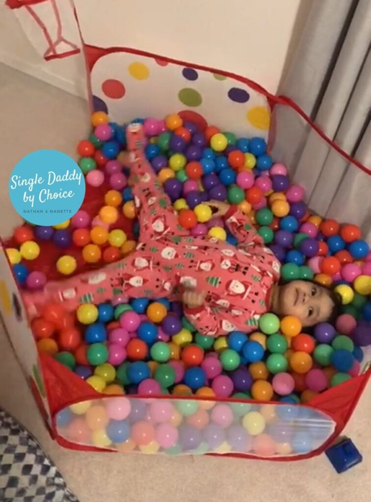 single daddy 5 Reasons A Ball-Pit Is A Must Have