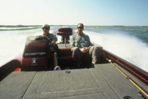 Orlando bass fishing guide ride