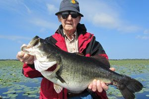 Giant Orlando fishing Largemouth