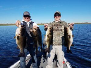 34 pound bag of Lake Toho bass