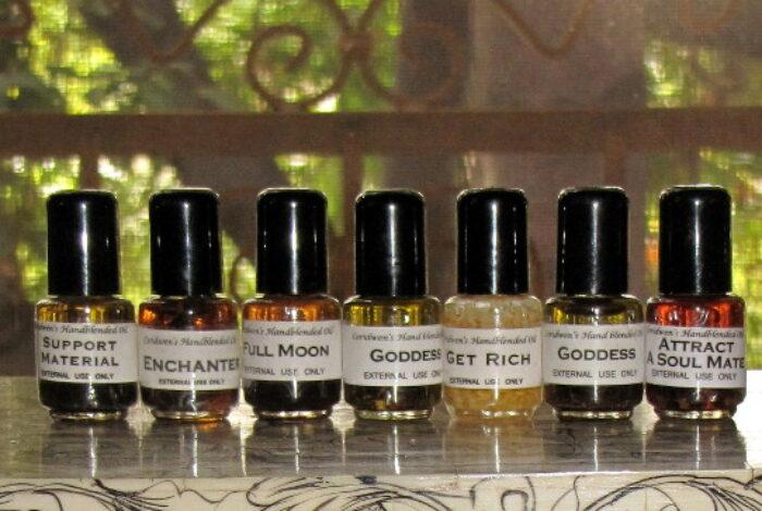 Handblended Oils