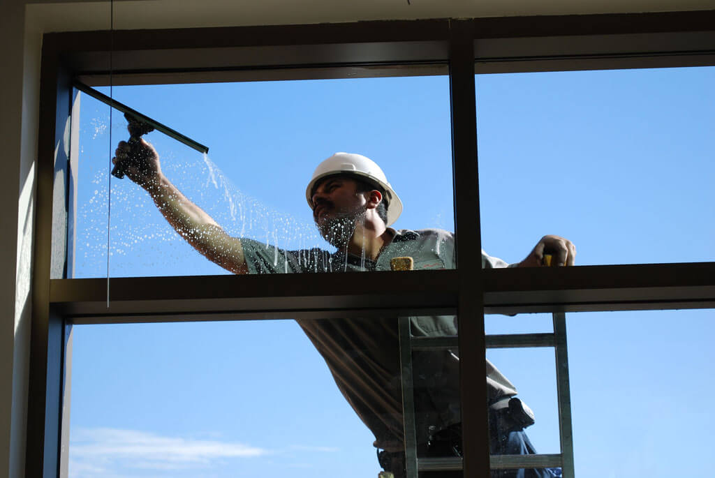 Residential Exterior Window Cleaning - A Pane in the Glass Window Cleaning