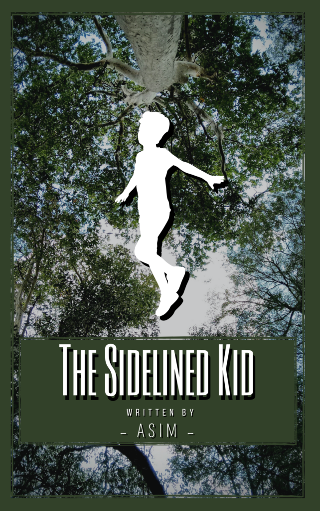 The Sidelined Kid Book Cover