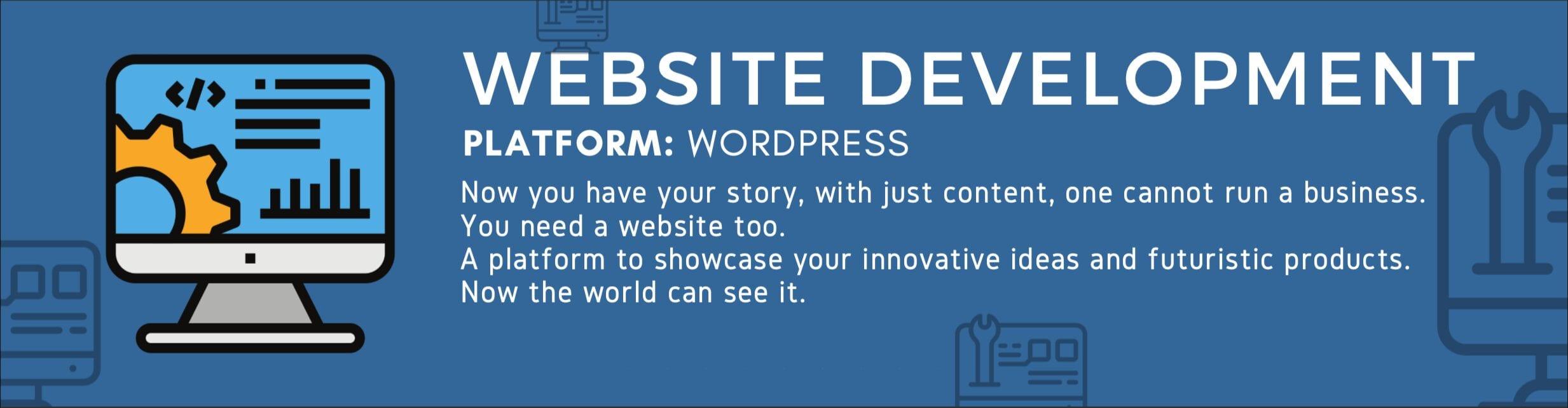 Website Development Description