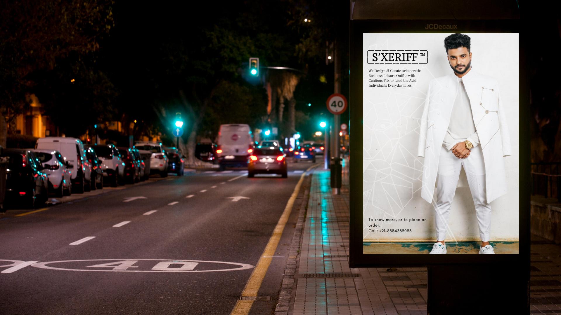 S'XERIFF Poster Sample 2