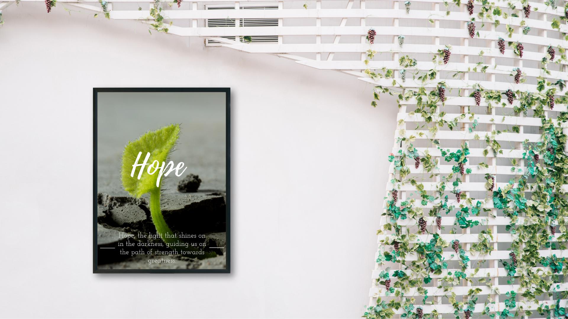 Hope Poster Sample