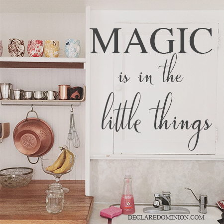 All those little things? They matter.