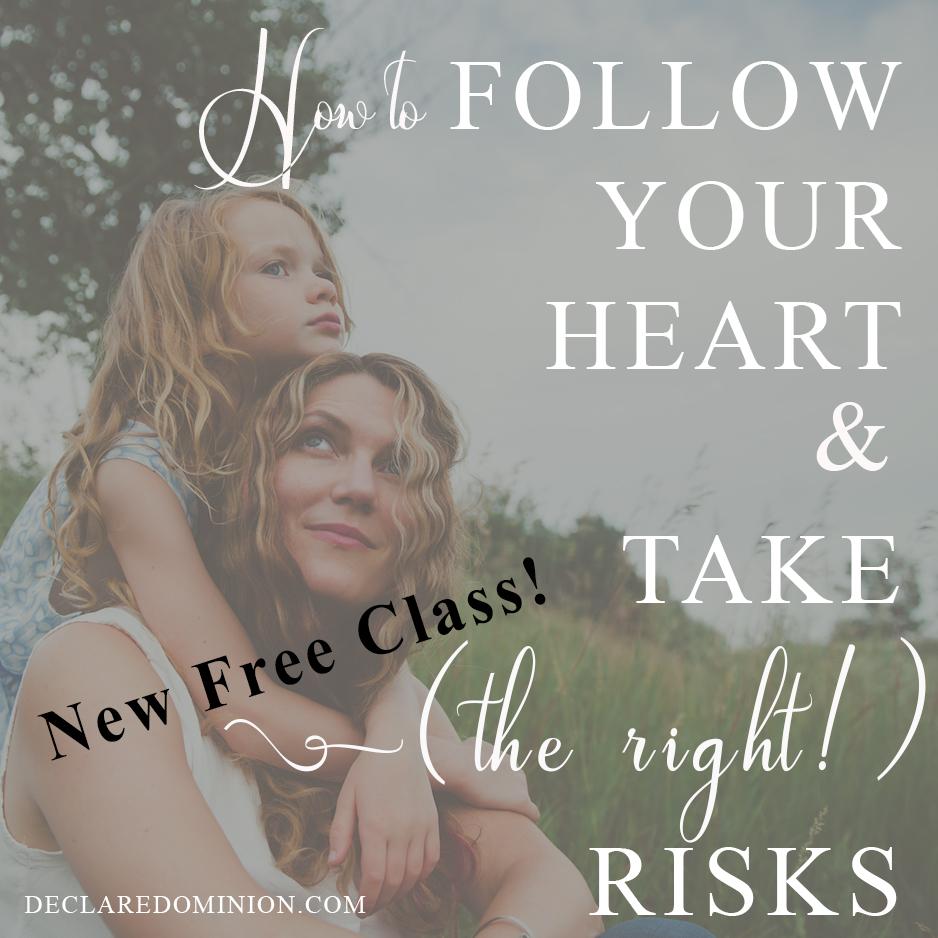 take risks free class
