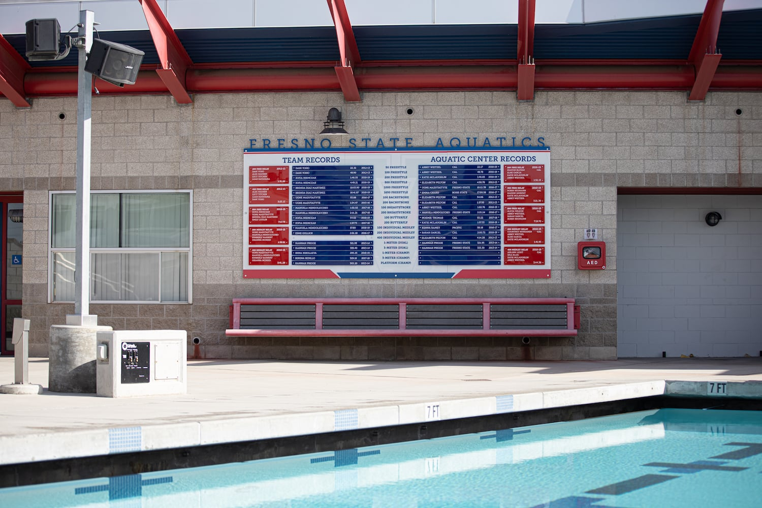 Champ Signs and Record Boards FS Aquatics 2