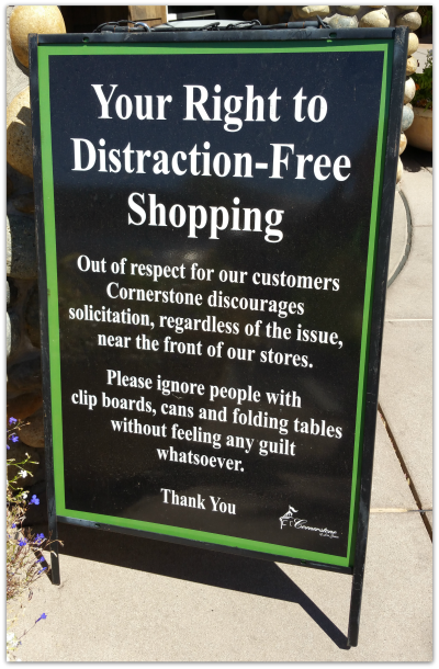 Whole foods distraction free shopping