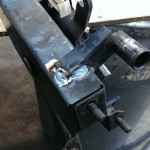 81 VW Rabbit Clutch Cable Bracket