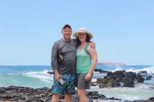 Me and my husband, Tom in Maui