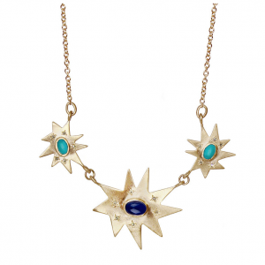 Gold Piccolo Grand Stella Necklace