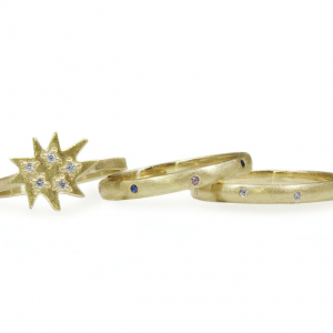 Mini Stella Ring With Stacking Rings