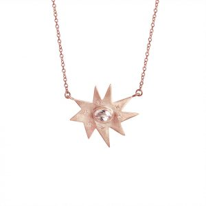 Rose Gold Stella Necklace