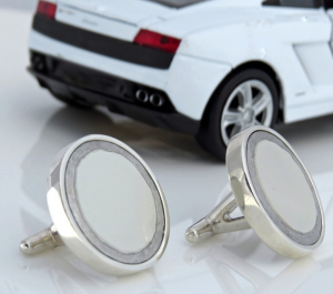 Ferrari 599 cufflinks, CRASH Jewelry