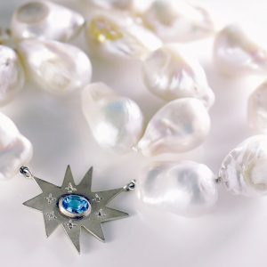 Baroque Pearl Stella Necklace