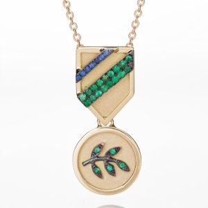Branch Medal Necklace