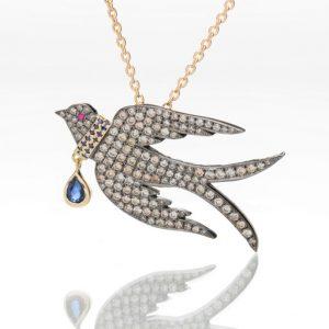 Collar Bird Necklace