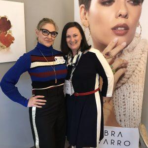 Brenna with Debra Navarro at JCK Tucson