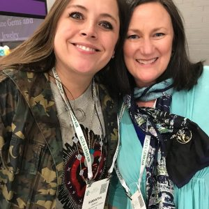 Samantha Jackson of Heavenly Vices Jewelry and Brenna in Tucson