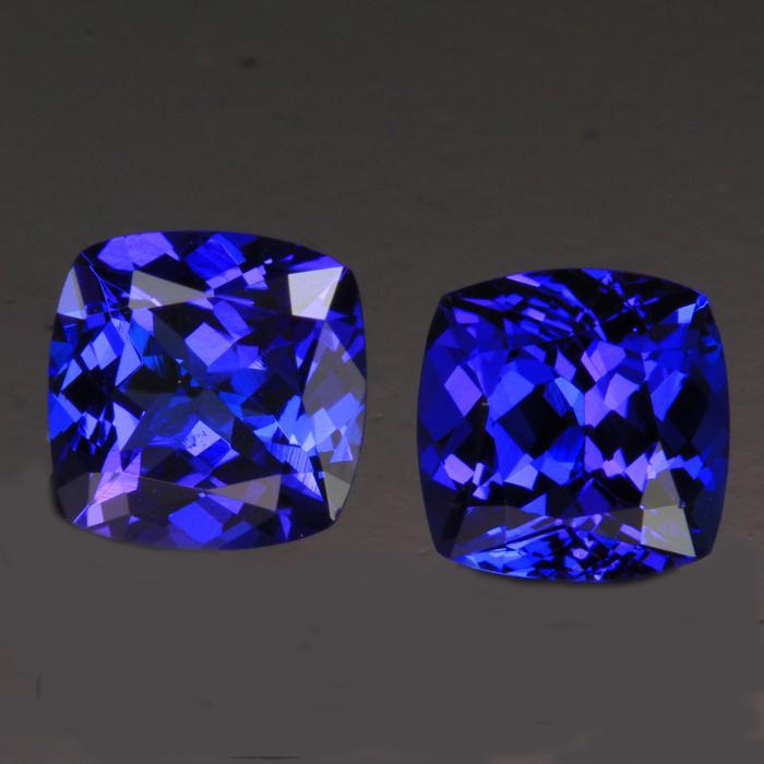 matching tanzanite gemstones
