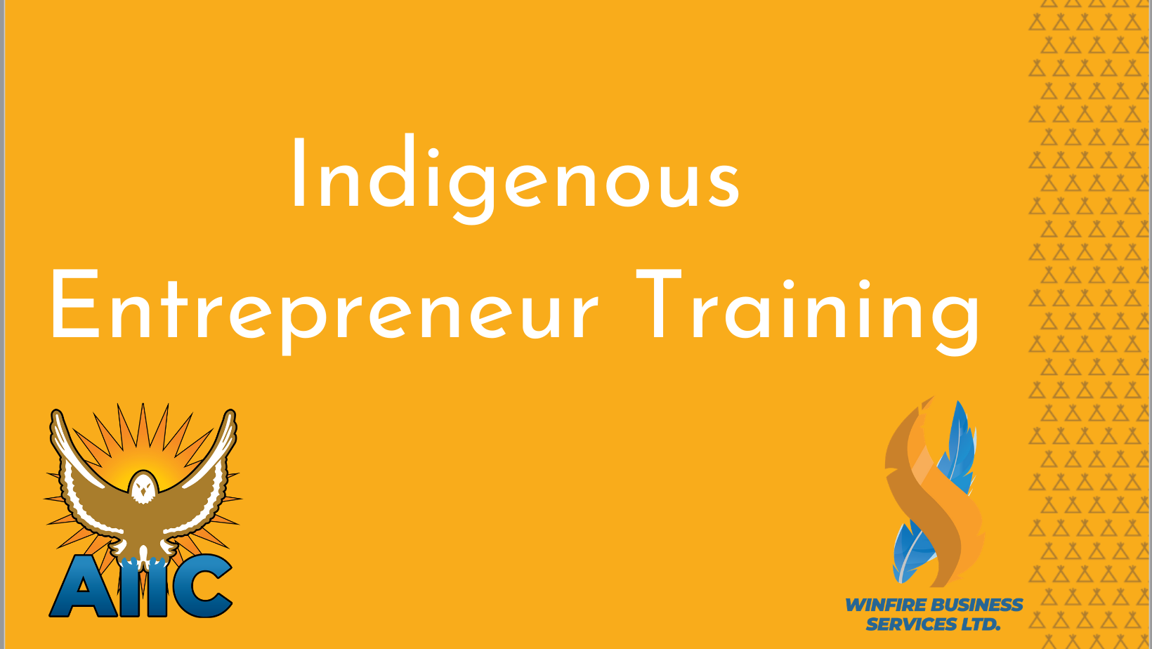 Indigenous Entrepreneur Training