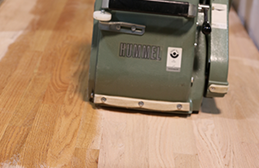 hummel-sanding