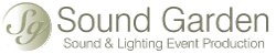 Sound Garden Event Productions Logo