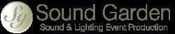 Sound Garden Event Productions Logo