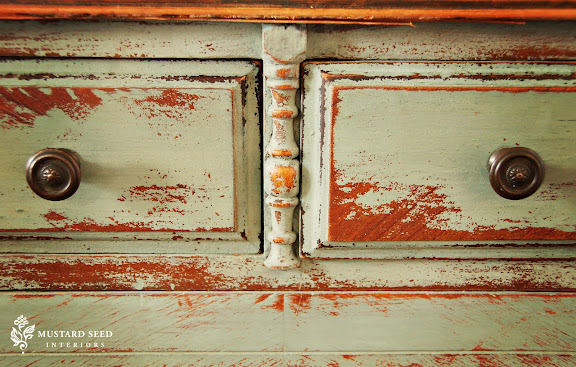 Painting furniture with Miss Mustard Seed Milk Paint