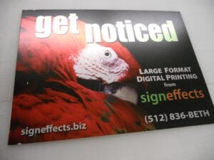 Sign Effects