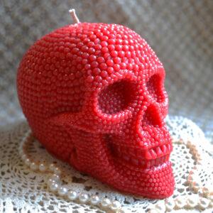 RED pearl skull 2