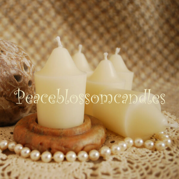 White Large Votives