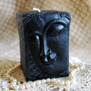 Black Buddha Pillar 1
