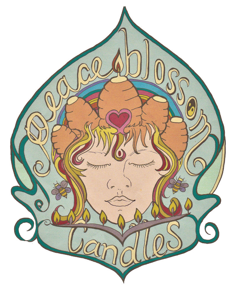 Peace Blossom Candles