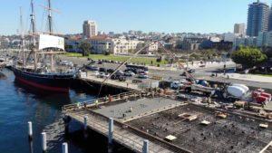 Portside Pier Concrete Pour