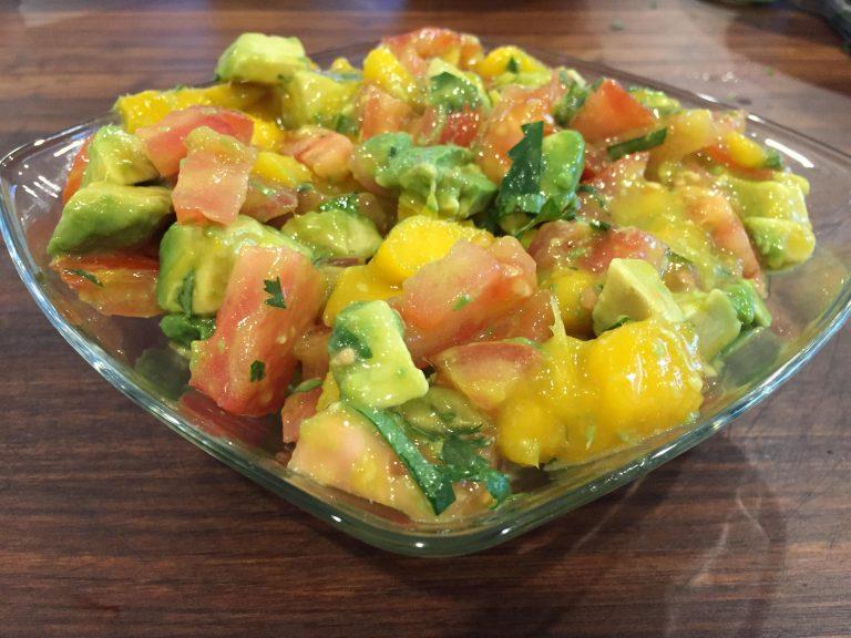 Summertime Mango Salsa