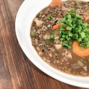 Vegetable Mung Bean Soup
