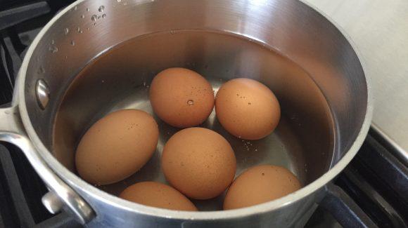 Boil a batch of eggs!