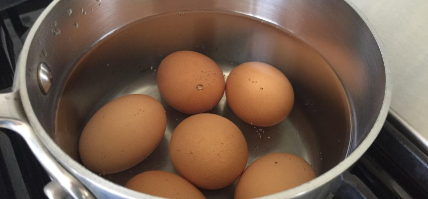 Boil a batch of eggs!