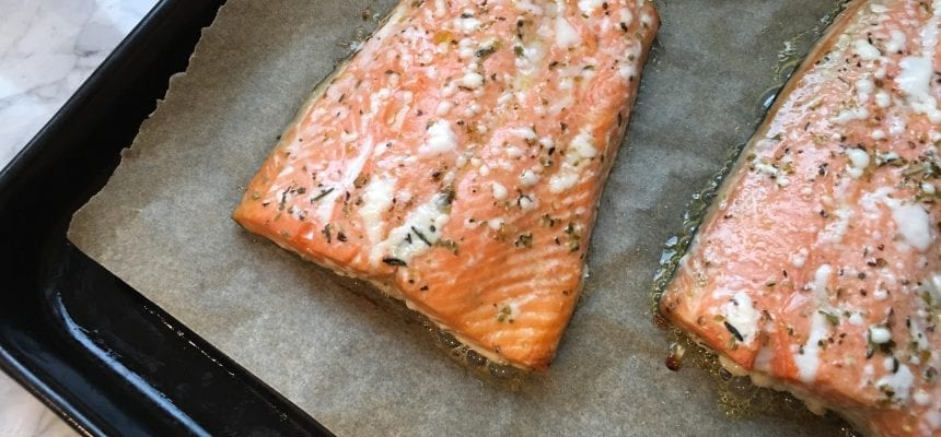 15-Minute Easy Salmon