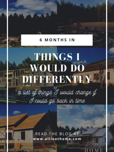 6 Months In – What I Would Do Differently