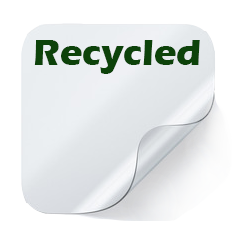 Release Base Paper with Recycled Fibers