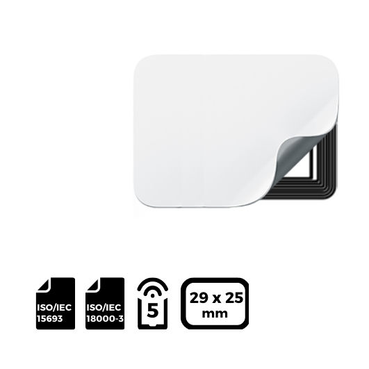 NFC LABEL 29x25mm for NXP ICODE®