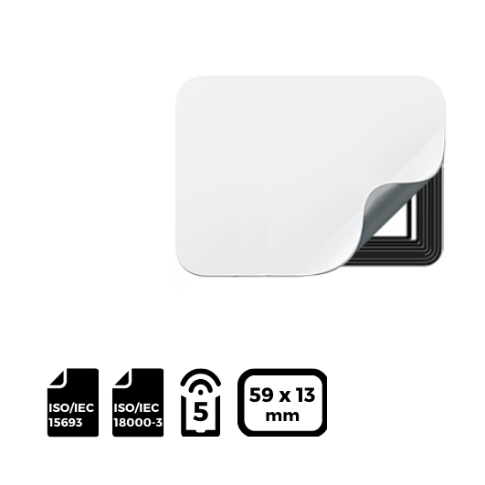 NFC LABEL 59x13mm for NXP ICODE®