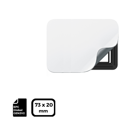 RFID LABEL 73x20mm for NXP UCODE®